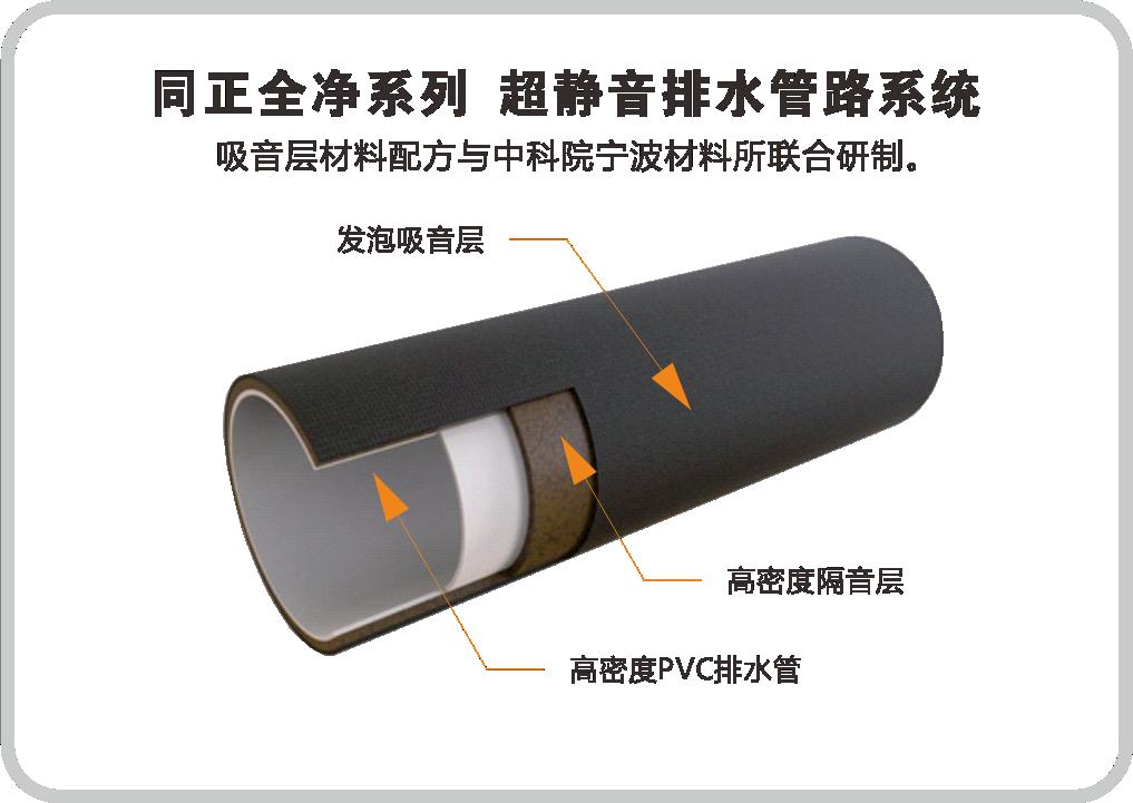 同正全净系列  超静音排水系统
